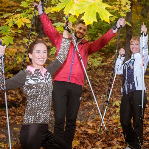 Nordic walk group / individual